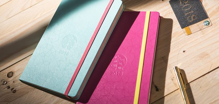 GIVEAWAY: Start 2018 on the Right Note With Starbucks Moleskine Planners