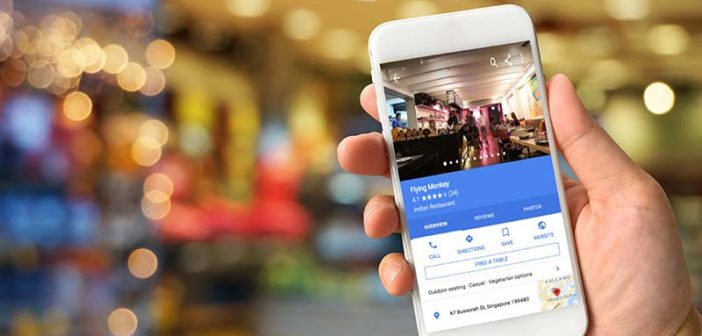 You Can Now Make a Restaurant Reservation on Google Maps in Singapore