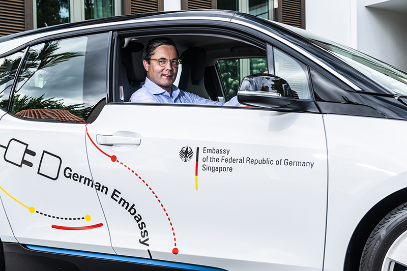 German Embassy In Singapore Sets A Green Example To Others With Bmw