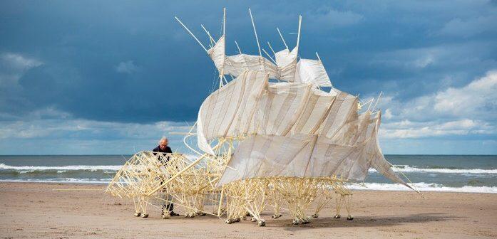 Mystical Seaside Creatures: Wind Walkers, Theo Jansen's Strandbeests