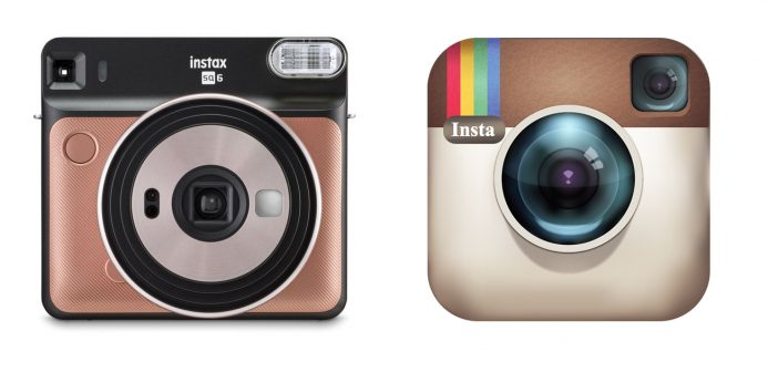 Fujifilm's Latest Instax Camera Reminds Us of the Old Instagram Logo