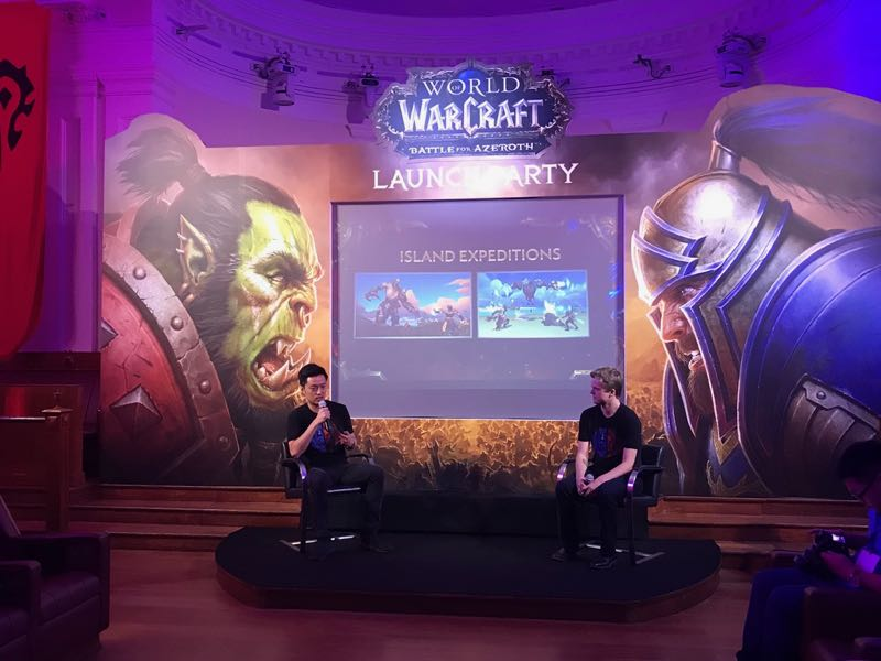Q & A with World of Warcraft game designers, John Yang and Johnny Cash