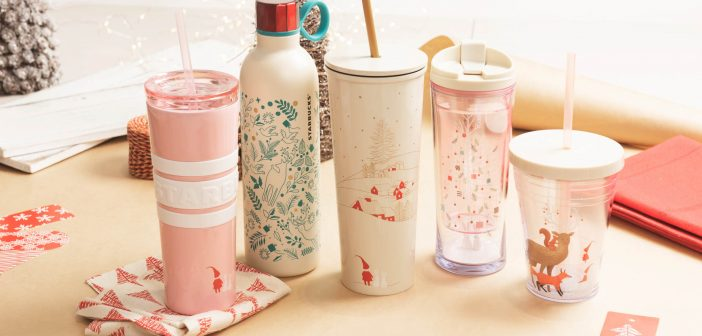Spice Up Your Christmas With Starbucks' New Collection for the Holiday Season