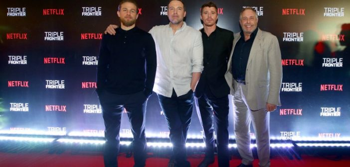 Ben Affleck and Stars Land in Singapore for Netflix's Triple Frontier