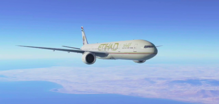 In the Air With Etihad Airways Business Class