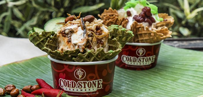 Love It or Hate It, the Nasi Lemak Ice Cream Makes a Comeback at Cold Stone Creamery