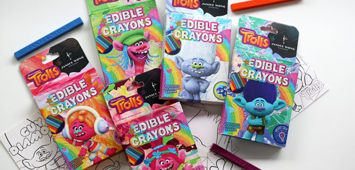 Eat Your Crayons – Janice Wong Launches Trolls Edible Crayons
