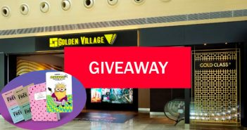 GIVEAWAY: 5 Sets of Golden Village M Pass to be Won