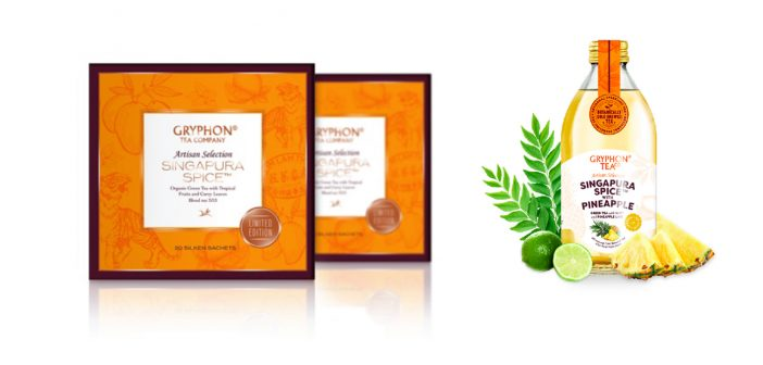 Curry Leaf Tea, Anyone? Spice it up with Gryphon Tea's Limited-Edition Singapura Spice