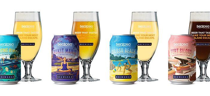 Sentosa and Brewerkz Collaborates to Launch Leisure Destination-Inspired Craft Beer Called Islander Brew