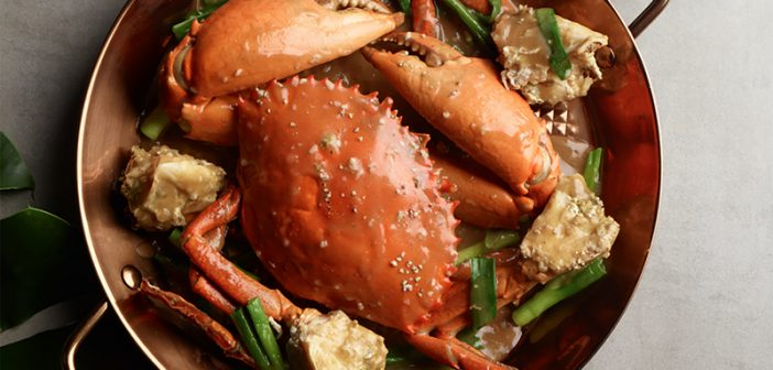No Signboard Seafood Offers 40% Discount for All Crabs