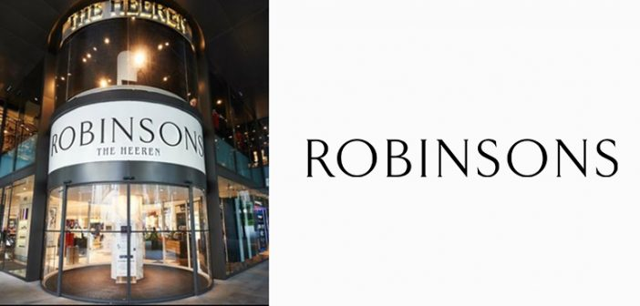 Robinsons Singapore Returns as an Online Store