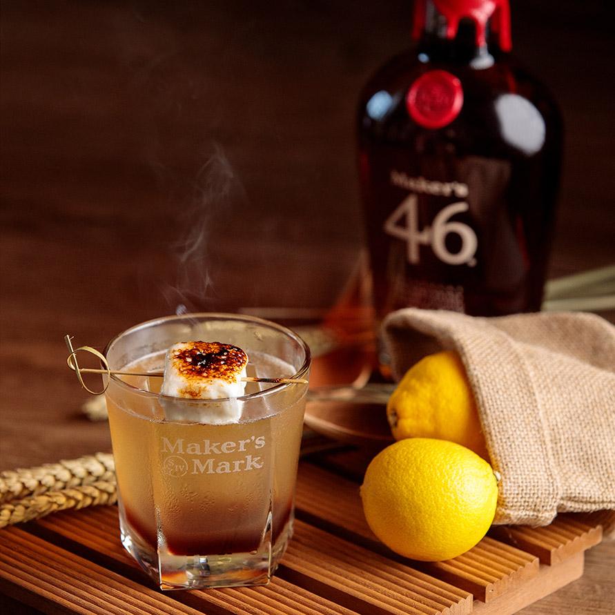 VUE Maker's Mark Burnt Forest Cocktail