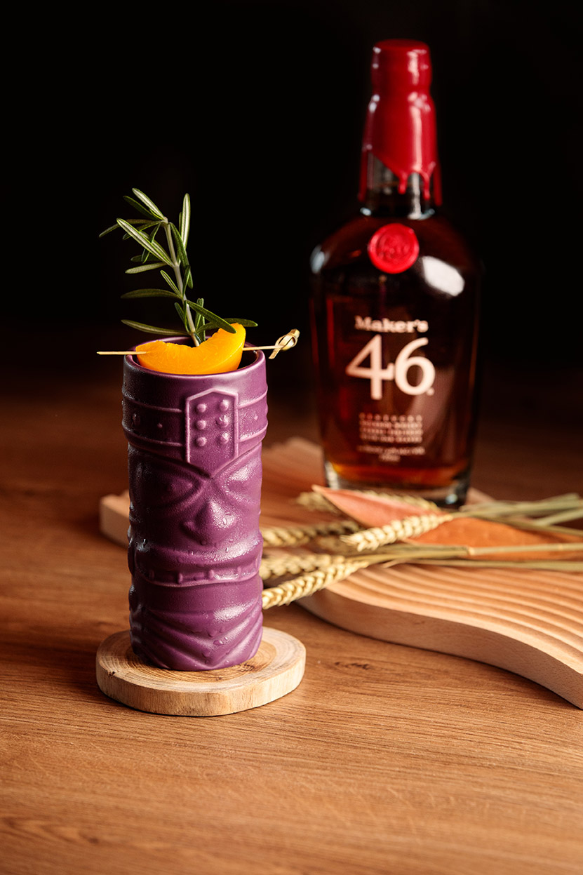 VUE Maker's Mark Peach Maker Cocktail