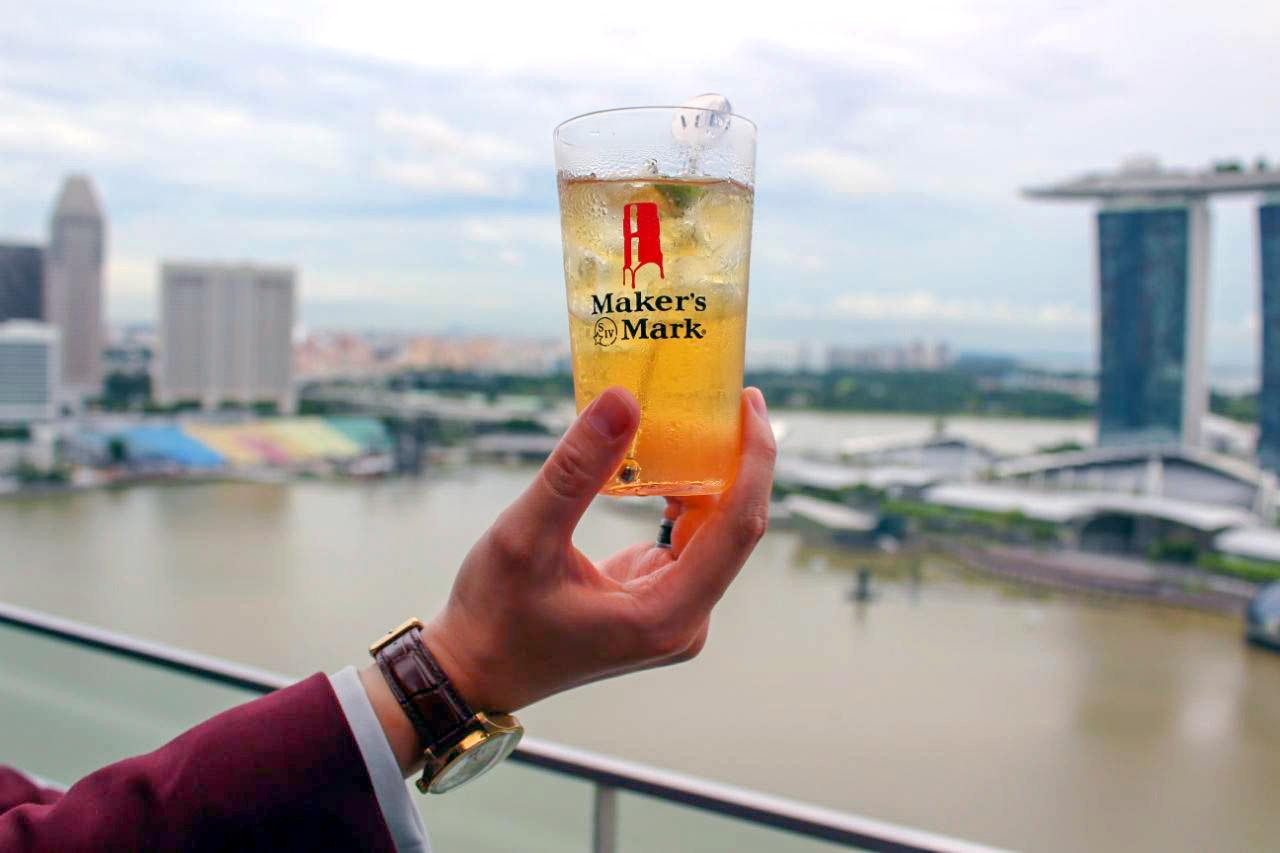VUE Marina Bay Sands Singapore Cocktails Maker's Mark