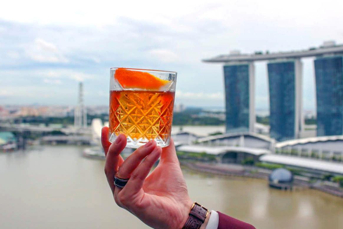 VUE Marina Bay Sands Skyline Cocktail
